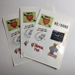 RE/DONE Stickers